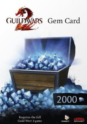 Picture of  کد بازی Guild Wars 2 2000 Gems Card